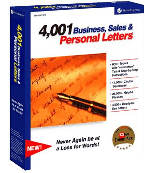 Proper way to write a letter template
